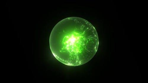Green Magic Globe