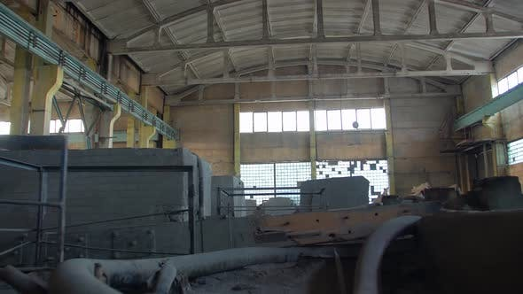 Ruins Of Industrial Building