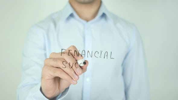 Thumbnail for Financial Success, Writing On Screen