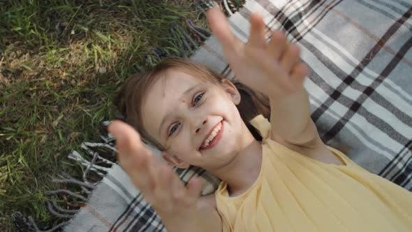 Lovely Little Girl Portrait