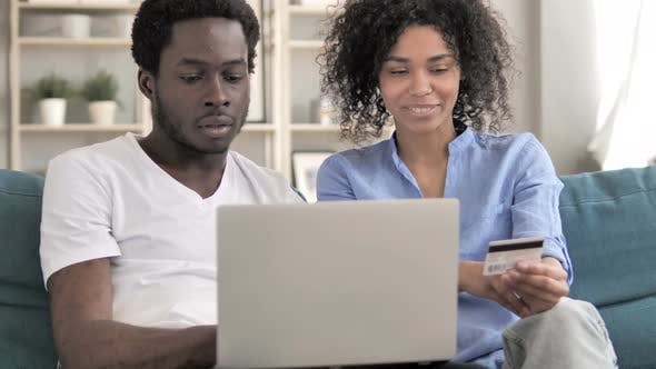 Thumbnail for Online Shopping By African Couple