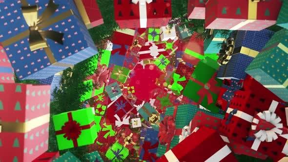Thumbnail for Christmas Gift Box 03 4K