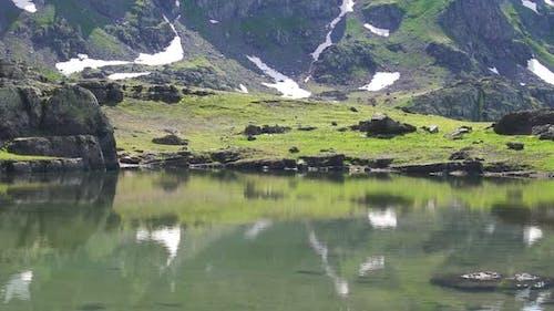 High Altitude Mountain Lake