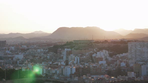 Thumbnail for Alicante Cityscape at Sunset, Spain