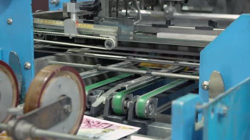 Printing Press Printed Brochure