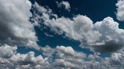 Clouds in the Clear Blue Sky