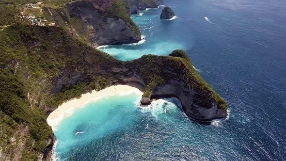 Cliffs Aerial Landscape