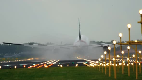 Thumbnail for Wide Body Airplane Landing