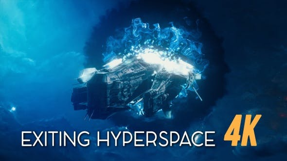 Thumbnail for Exiting Hyperspace Travel 4K