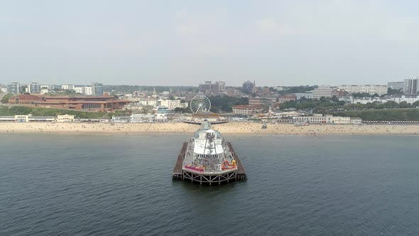 Thumbnail for Bournemouth Beach and Pier From the Air