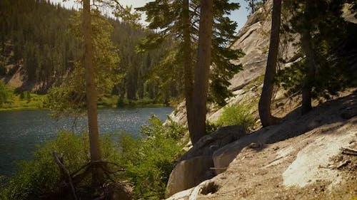 Sotcher Lake in the Ansel Adams Wilderness in California USA