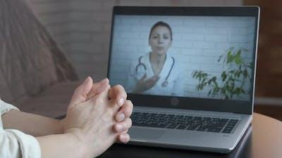 Doctor Consultation on Webcam