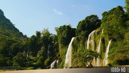 Ban Gioc Wasserfall in Cao Bang, Vietnam