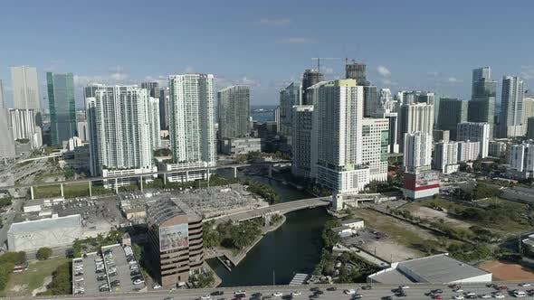 Thumbnail for Aerial view of Miami