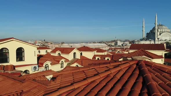 Thumbnail for Grand Bazaar Roofs Istanbul Aerial View 5