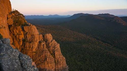 4K Timelapse of the Summit of the Chimney Pots, Grampians National Park, Victoria, Australia