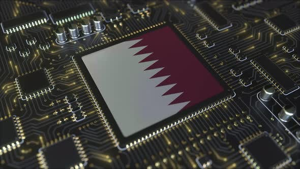 Thumbnail for Flag of Qatar on the Operating Chipset