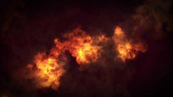 Fire Background Loop