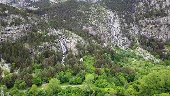 Thumbnail for Pyrenees Mountains Aerial View, Spain