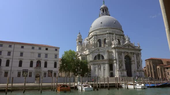 Thumbnail for Basilica Santa Maria in Venice From Boat