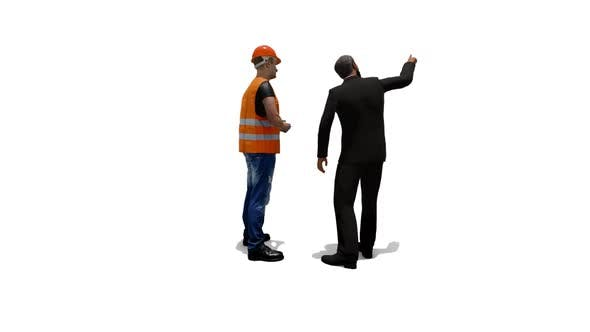 Worker and Boss Talk