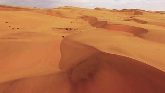 Thumbnail for Aerial View of Endless Sand Dunes of the Namib Desert Inside the Namib-Naukluft National Park