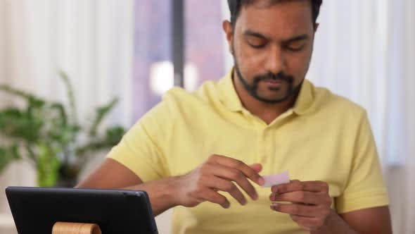 Ui Designer Working on User Interface at Home