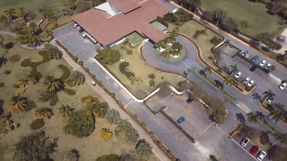 Thumbnail for Golf Course Club House Drone