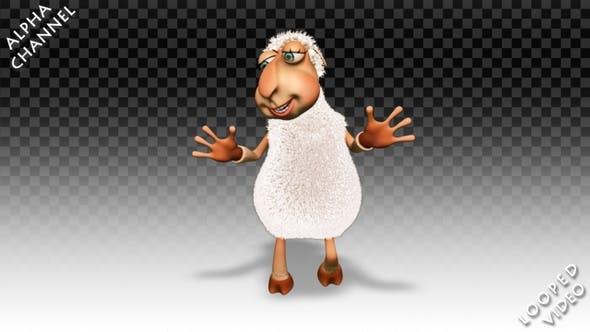 Comic Sheep - Dance Jump