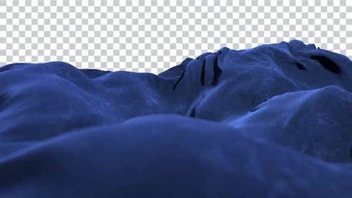 Swirly Velvet Loop