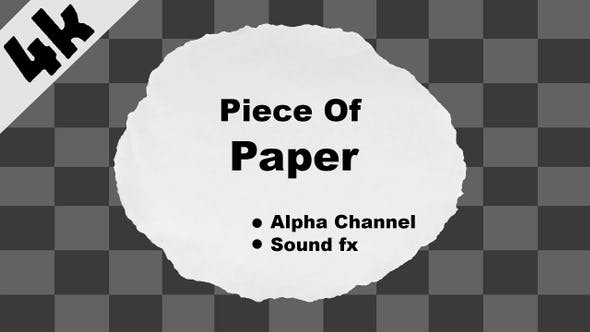 Thumbnail for Piece of Paper