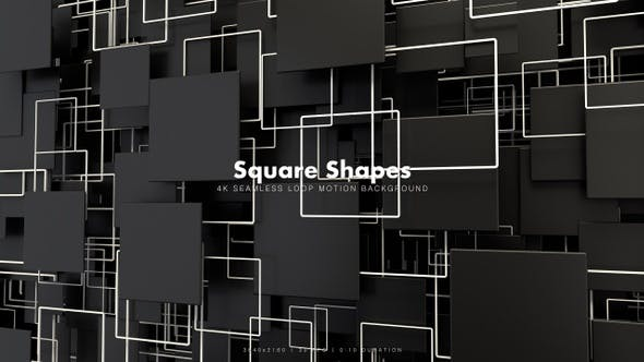 Thumbnail for Square Shapes Motion 41