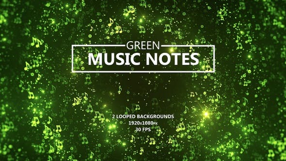 Thumbnail for Green Music Notes