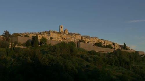 The hilltop village of Tourrettes-sur-Loup