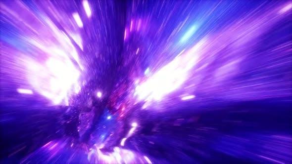 Fly Through Galaxy 01 4k