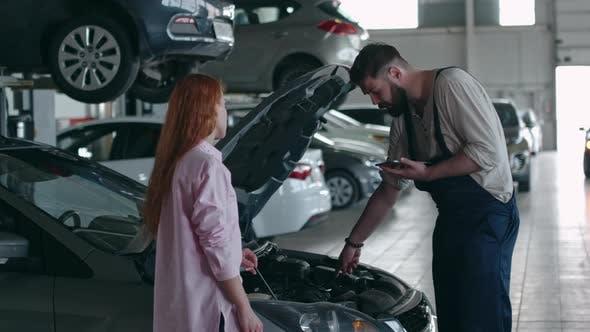 Thumbnail for Diagnostics of Car Engine