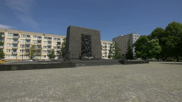 Thumbnail for Monument to the Ghetto Heroes in Warsaw