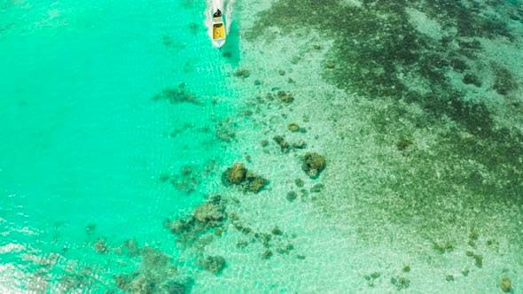 Thumbnail for Transparent Blue Sea Water in the Lagoon.