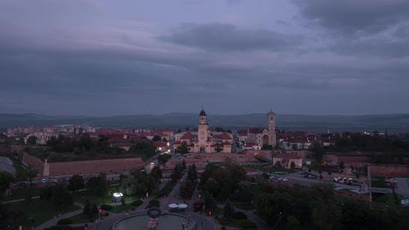 Timelapse of Alba Iulia