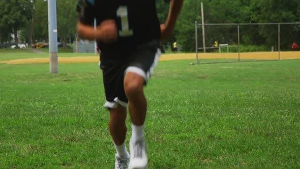 Thumbnail for Football Player Runing 04
