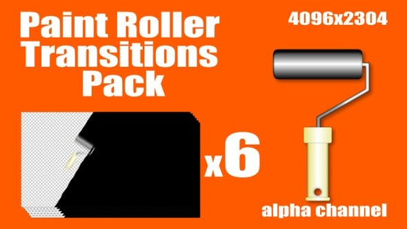 Thumbnail for Paint Roller Transitions Pack