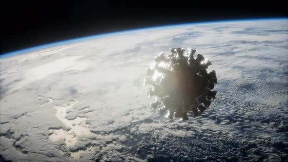 Coronavirus COVID19 Asteroid Near Earth