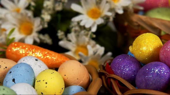 Thumbnail for Colorful Traditional Celebration Easter Paschal Eggs 06