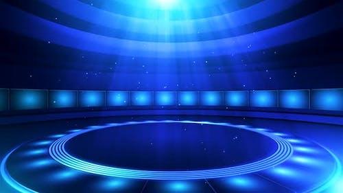 Virtual Entertainment Studio Set Background 12