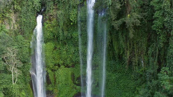 Cover Image for Moving Down a Waterfall