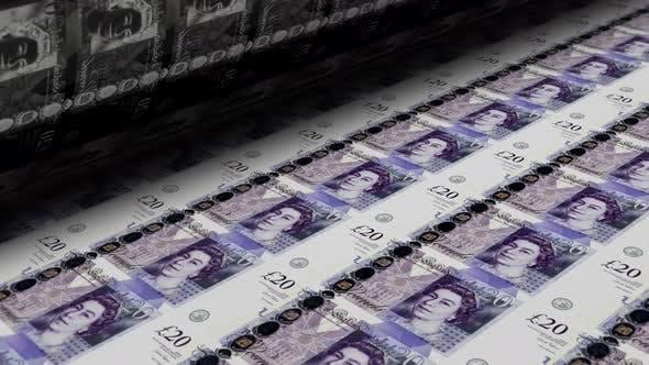 Thumbnail for Money Printing British Pounds