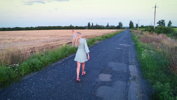 Cover Image for Walk on the Road Among the Field