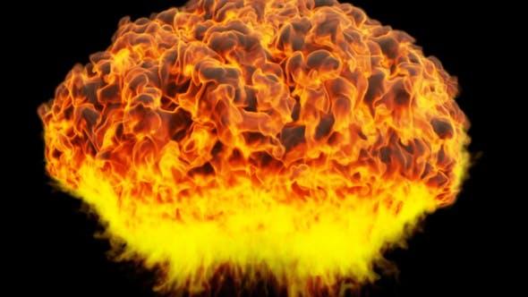 Huge Fire Explosion