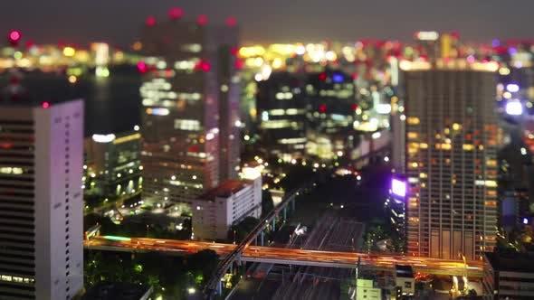 Thumbnail for Night Time Lapse Tokyo Japan
