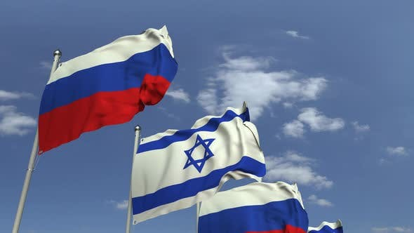 Thumbnail for Flags of Israel and Russia